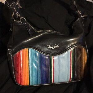 Custom made Trophy Queen shoulder bag